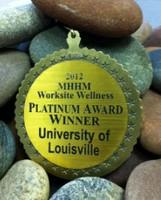 Mayor's Healthy Hometown Movement Platinum Award Plaque