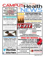 Campus Health Newsletter August 2014