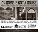 History major Elizabeth Standridge curates exhibit for the Louisville Free Public Library