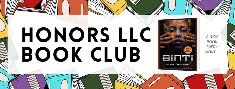 Honors Living Learning Community (LLC) Book Club April 2021