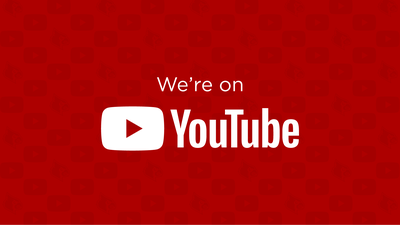 we're on youtube