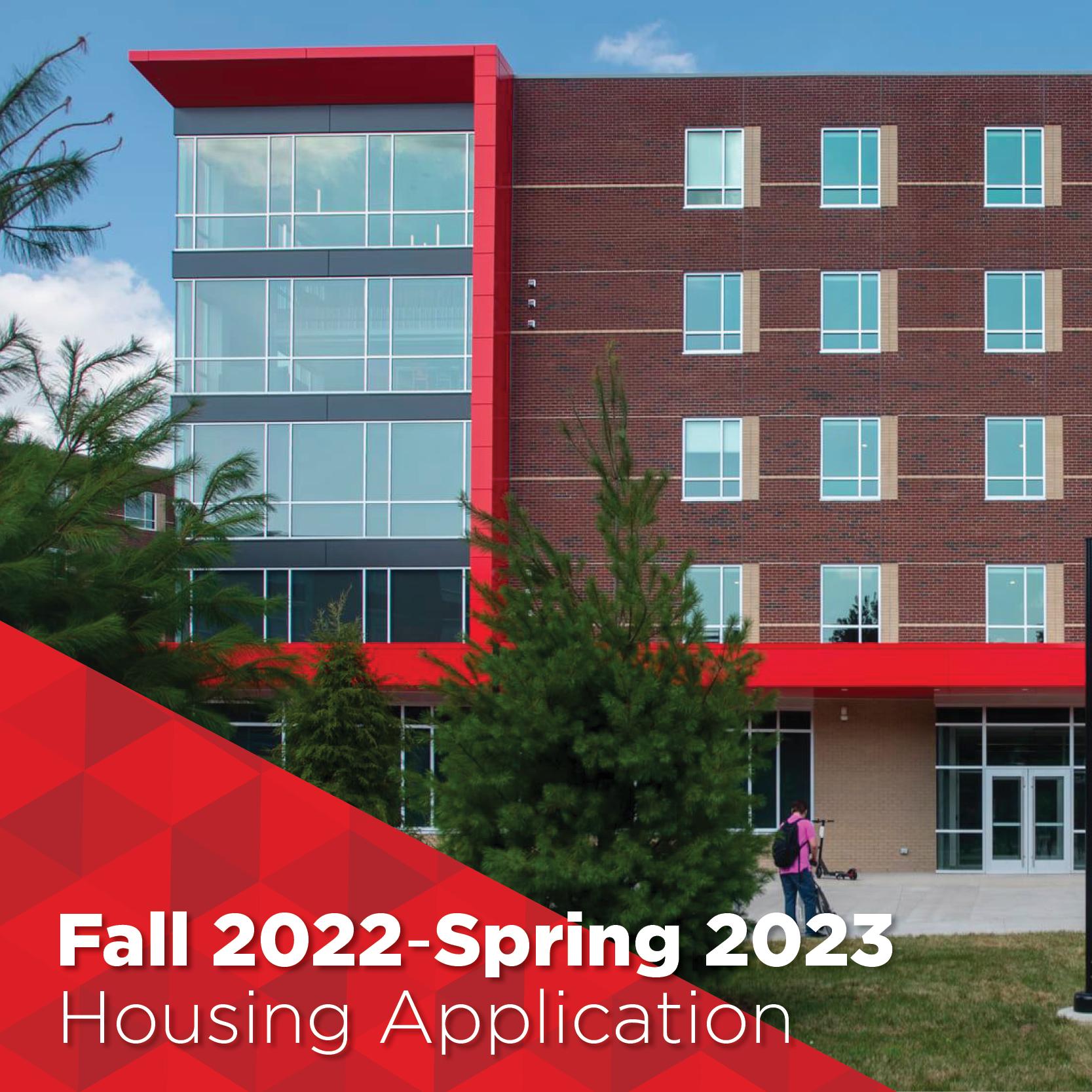 fall 2022 housing application