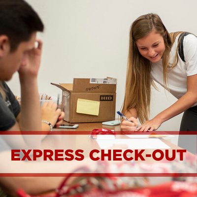 select this image to view express check-out instructions