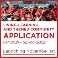 fall 2021 living-learning and themed community application launching november first