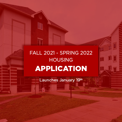fall 2021 and spring 2022 housing application launches on January nineteenth