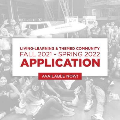 apply for a living-learning or themed community in the housing portal