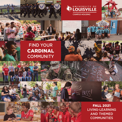find your cardinal community with a living learning or themed community in Fall 2021