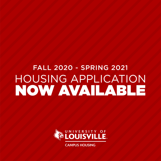 Fall 2020 - Spring 2021 Housing Application Now Available