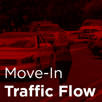 move-in traffic flow