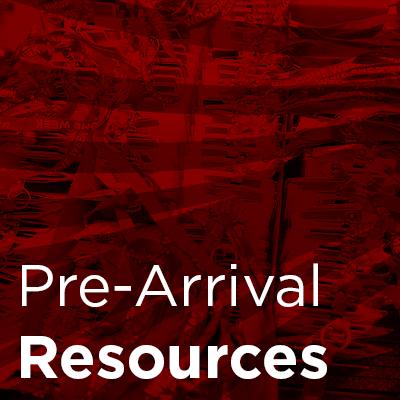 pre-arrival resources