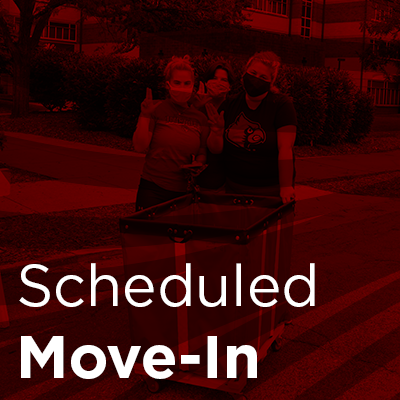 scheduled move-in