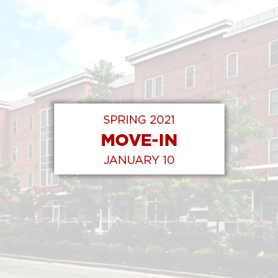 spring 2021 move-in january tenth