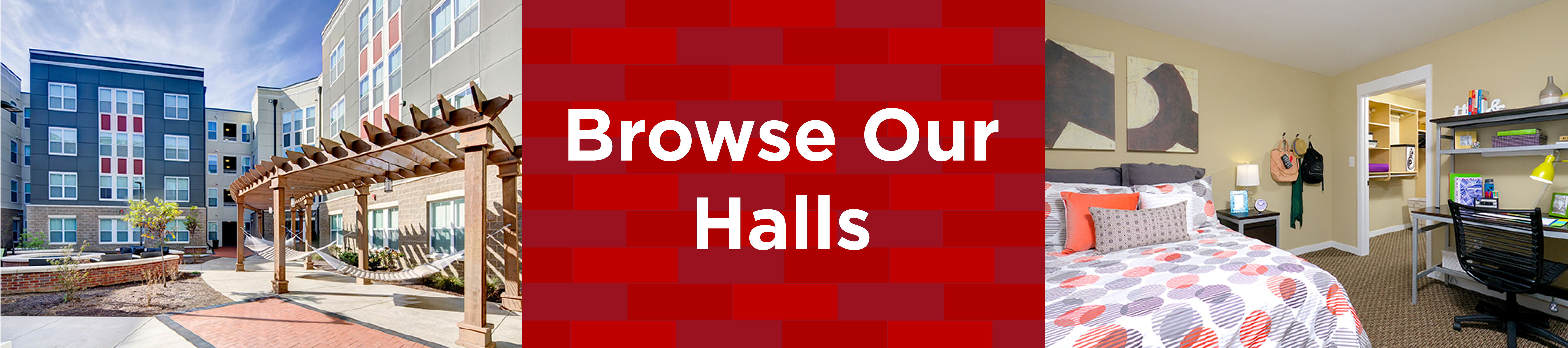 browse our halls