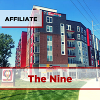 exterior of the nine apartments