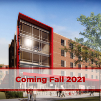 exterior of new hall