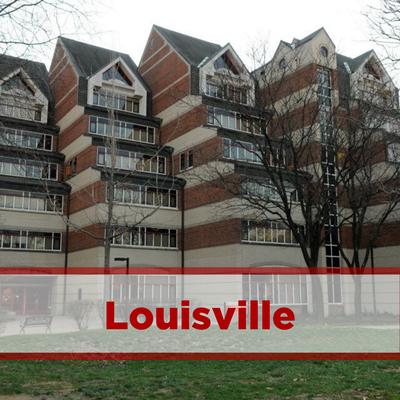 exterior of Louisville Hall