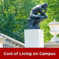 cost of living on campus