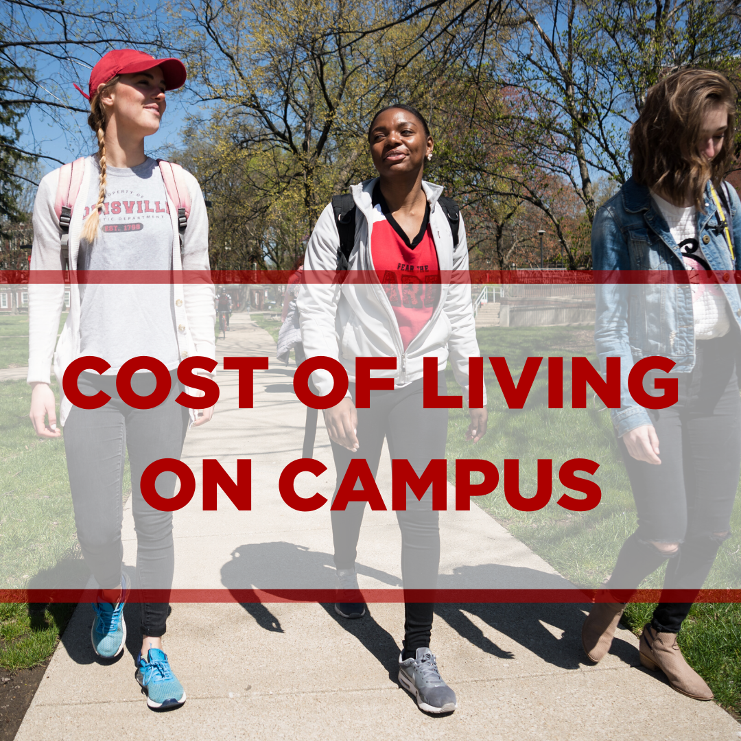 select this image to view the costs of living on campus