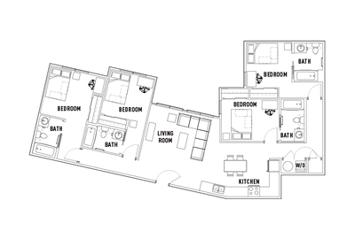 Floorplan F at University Pointe