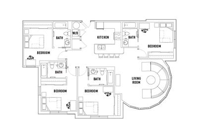 Floorplan G at University Pointe