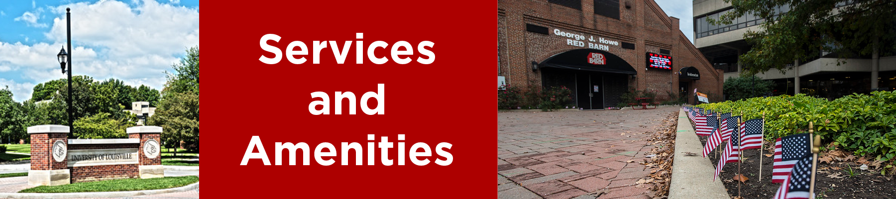 services and amenities