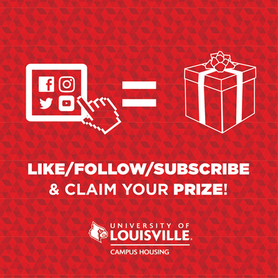 like, follow, or subscribe to our social media to claim a prize!