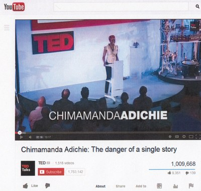 TED Talk Screen Shot