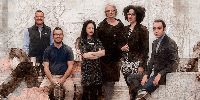picture from left to right: Daniel Krebs, Lluís Baixauli-Olmos, Lauren Freeman, Lara Kelland, Kiki Petrosino, Andreas Elpidorou