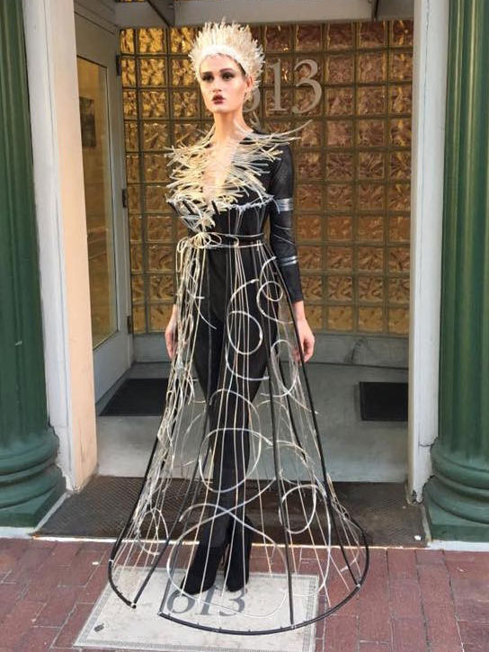 Tiffany Hutabarat-Nelson's costume design titled