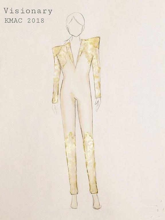 Humanities Alumna Tiffany Hutabarat-Nelson's costume design titled,