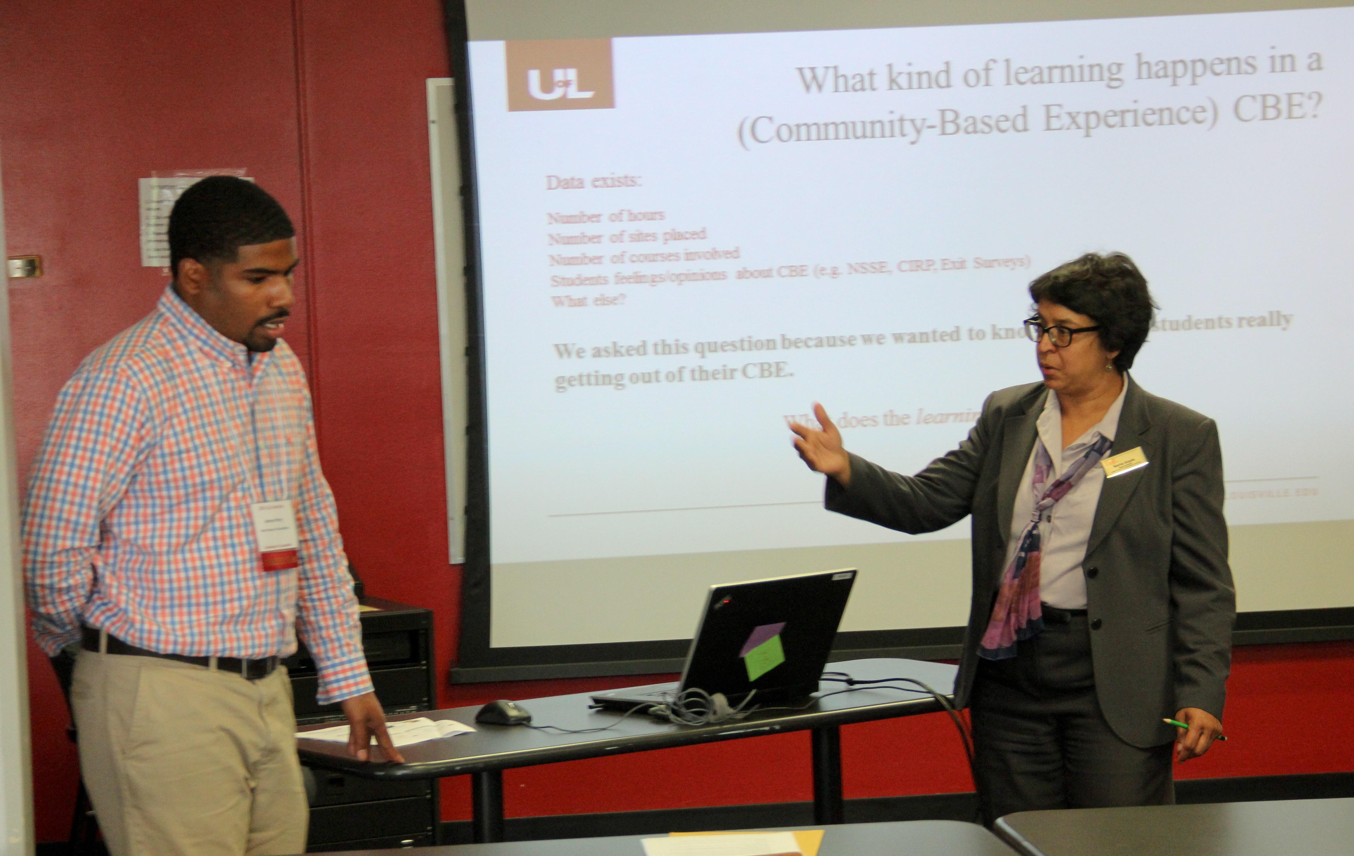Drs. Armon Perry and Nisha Gupta
