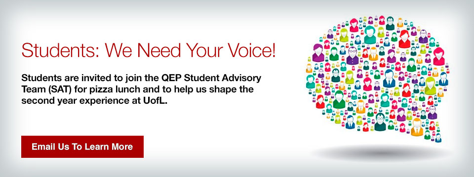 QEP student advisory team