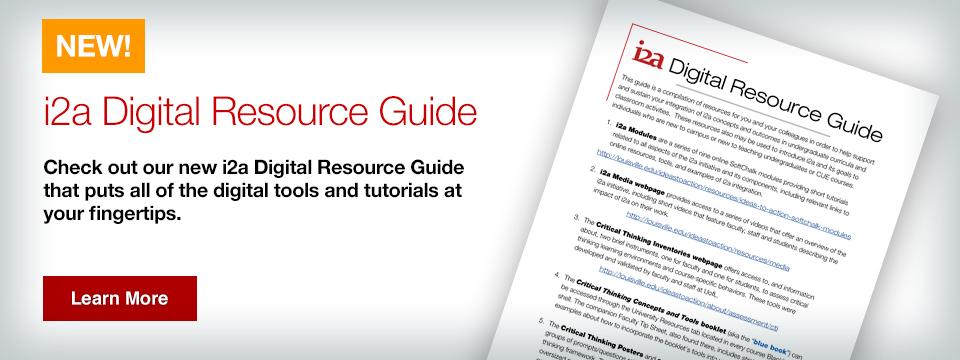 Digital Resource guide