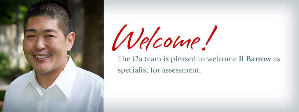 The i2a team is pleased to welcome IL Barrow