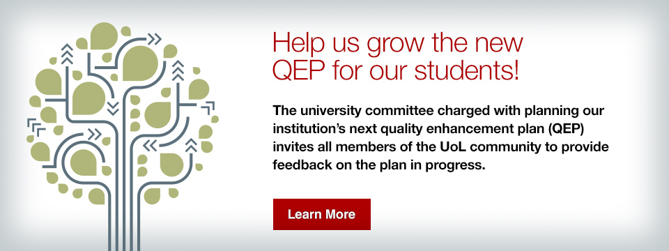 Help us grow the new QEP for our students