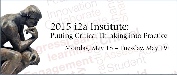 i2a Institute 2015