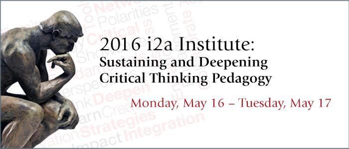 i2a Institute 2016
