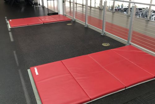 View of Exercise mats