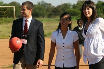 Botswana Soccer Field