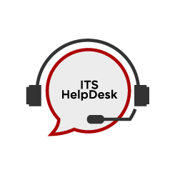 Link to ITS HelpDesk webpage