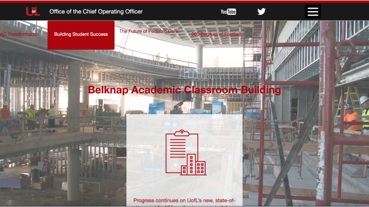 Chief Operating Officer homepage screenshot