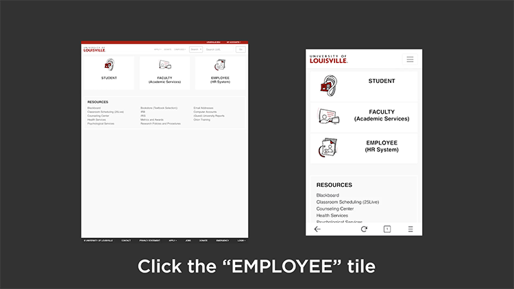 Sign-in to the HR System video screenshot
