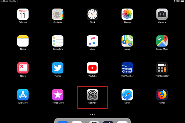 iPad / iPhone Desktop screenshot