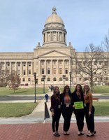 students at state capital
