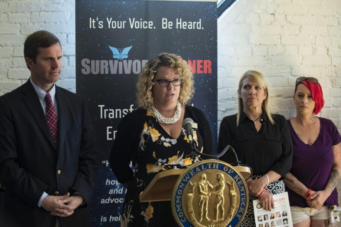 Jennifer Middleton Human Trafficking press conference