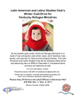 LALS Club Hosts Annual Kentucky Refugee Ministries Coat Drive