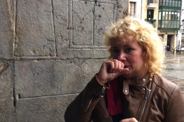 Arrantxa, the Mondragon city historian
