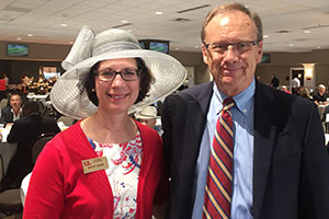 Photo: Kathy Sides and Bruce Dudley