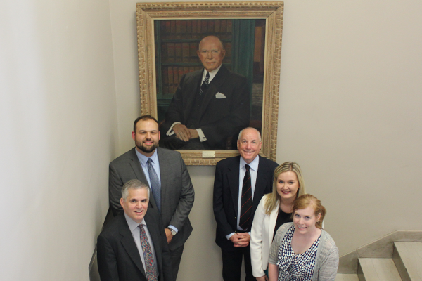 Lowry Watkins and National Moot Court Team