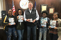 Kentucky Bar Foundation supports Central High program with textbook grant